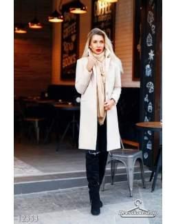 Кашемировое пальто 12353