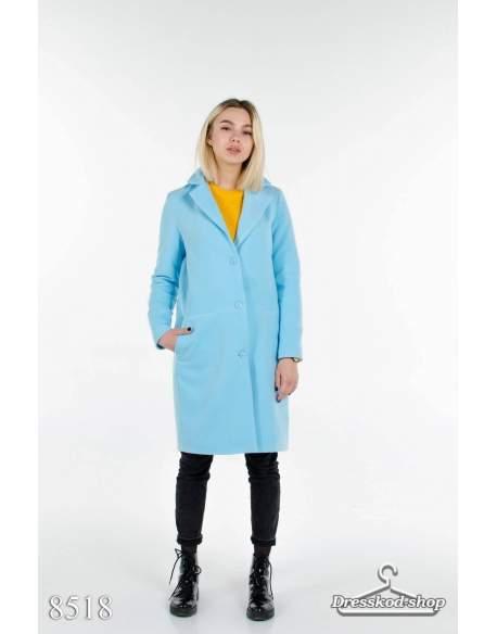 Кашемировое пальто  8518