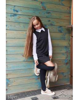 Детское школьное платье 16395