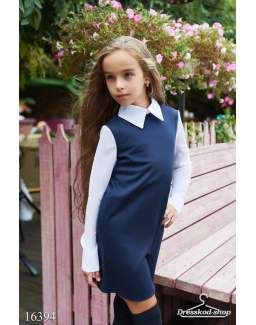 Детское школьное платье 16394
