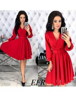 Женское  платье    17020