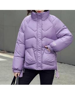 Женская куртка сереневая  23972
