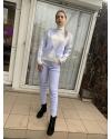 Женский прогулочный костюм голубой 23974